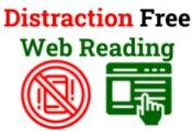 Distraction Free Web Reading