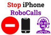 Stop iPhone RoboCalls