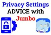 Privacy Settings ADVICE with Jumbo